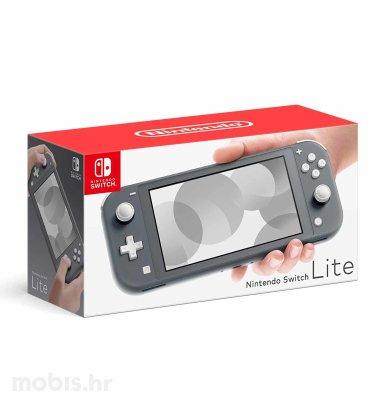 Nintendo Switch lite konzola: siva