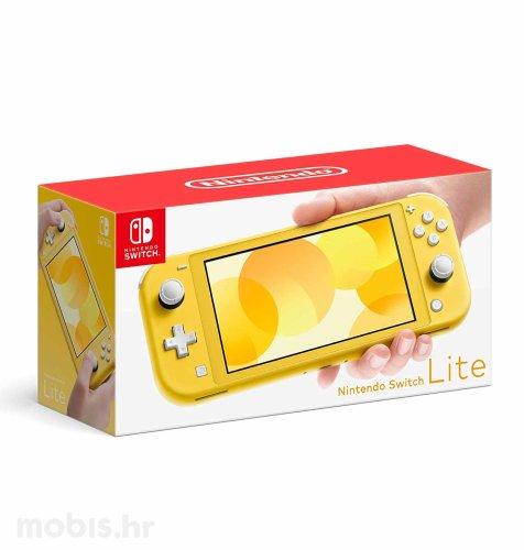 Nintendo Switch lite konzola: žuta