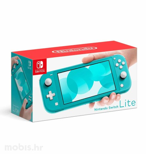 Nintendo Switch lite konzola: tirkizno-plava