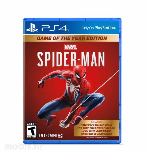 Marvel's Spiderman Game Of The Year igra za PS4