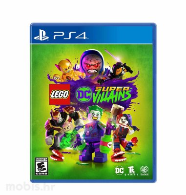 Lego DC Super Villains igra za PS4