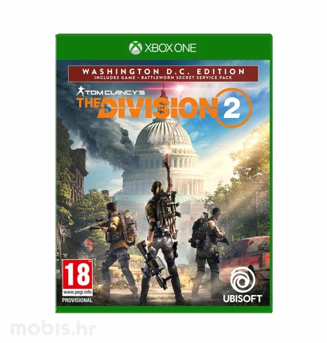 Tom Clancy's The Division 2 Washington DC Deluxe Edition igra za Xbox One