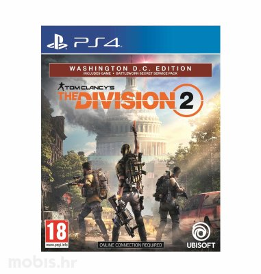 Tom Clancy's The Division 2 Washington DC Deluxe Edition igra za PS4