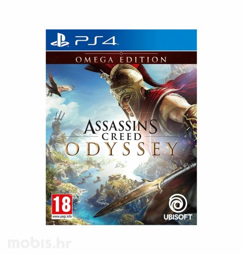 Assassin's Creed Odyssey Omega Deluxe Edition igra za PS4