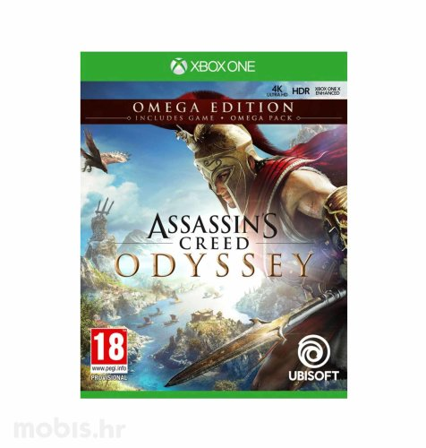 Assassin's Creed Odyssey Omega Deluxe Edition igra za Xbox One