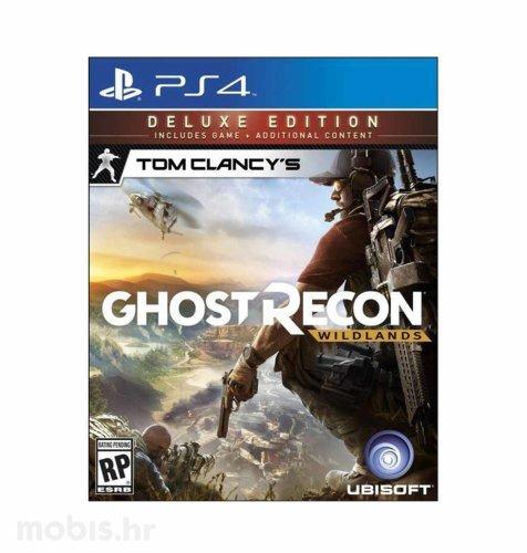 Tom Clancys Ghost Recon Wildlands Deluxe Edition igra za PS4