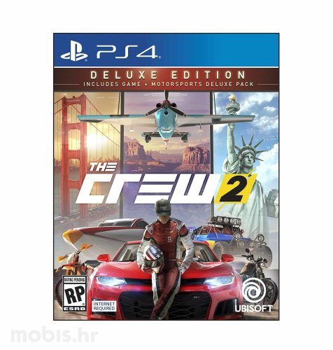 The Crew 2 Deluxe Edition igra za PS4