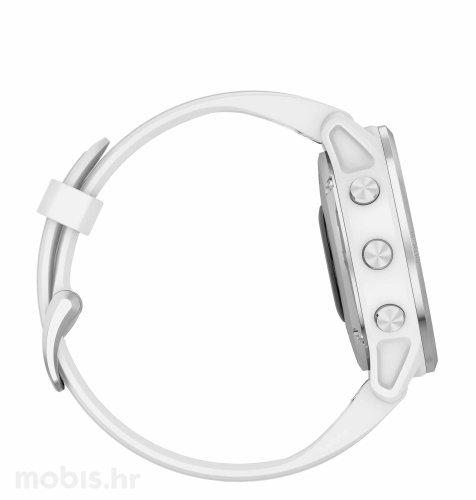 Garmin Fenix 6S: silver bijeli (bijeli remen)