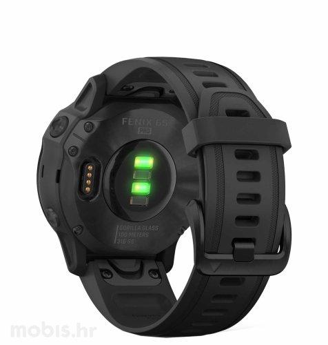 Garmin Fenix 6S Pro: crni (crni remen)