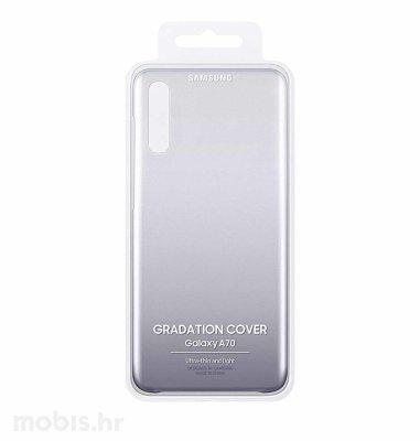 Zaštitna maska za Samsung A70: crna
