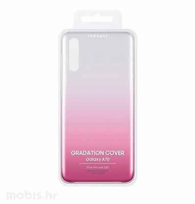 Zaštitna maska za Samsung A70: roza