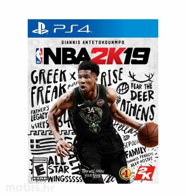 NBA 2K19 Standard Edition igra za PS4