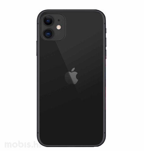 Apple iPhone 11 64GB: crni