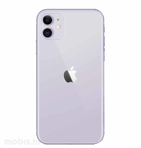 Apple iPhone 11 64GB: ljubičasti