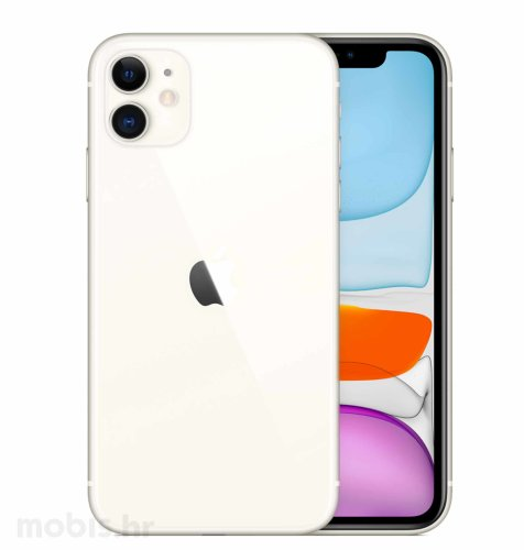 Apple iPhone 11 128GB: bijeli