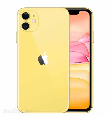 Apple iPhone 11 64GB: žuti