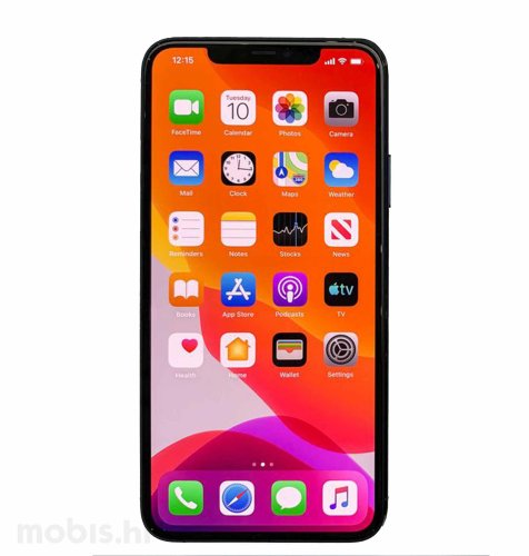 Apple iPhone 11 256GB: crni