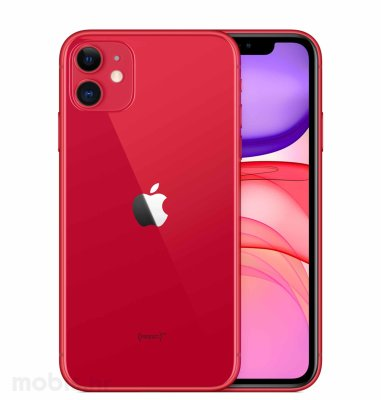 Apple iPhone 11 256GB: crveni