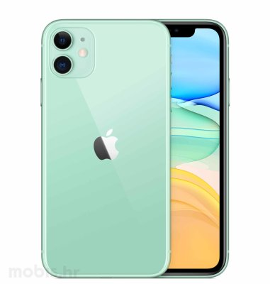 Apple iPhone 11 128GB: zeleni