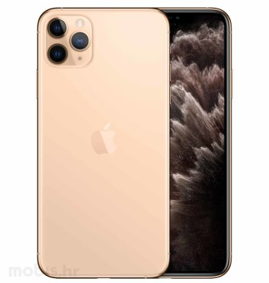 Apple iPhone 11 Pro Max 512GB: zlatni