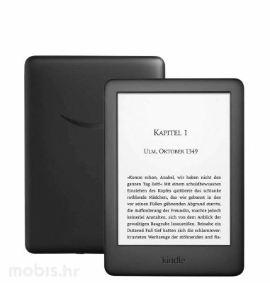 "Kindle E-Book čitač 2019 SP (2019 – 10th generation), 6"" 4GB, 167DPI, WIFI: crni"