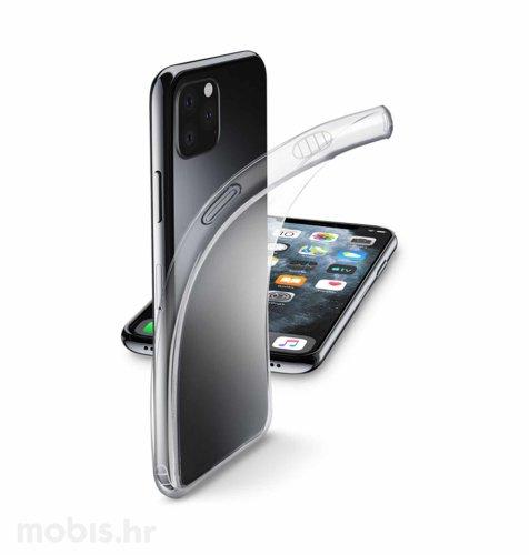 Cellular Line silikonska maskica za uređaj Apple iPhone 11: prozirna