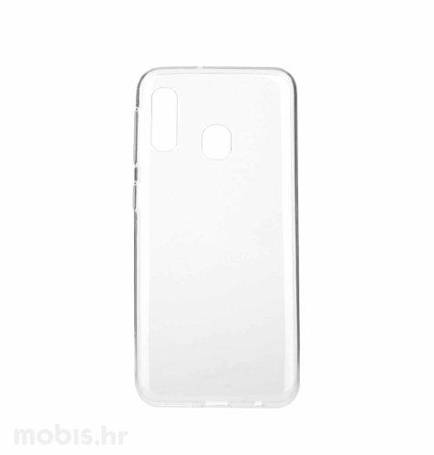 JCM silikonska maskica za uređaj Samsung Galaxy A20E : prozirna
