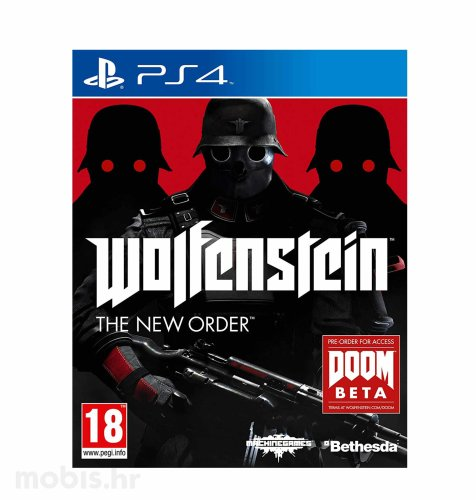 Wolfenstein: The New Order HITS igra za PS4