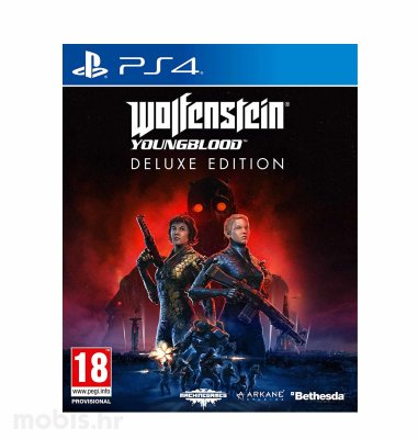 Wolfenstein Youngblood Deluxe igra za PS4