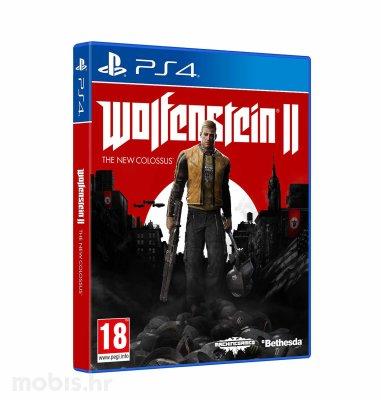 Wolfenstein 2 The New Colossus igra za PS4