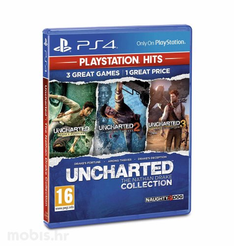 Uncharted Collection HITS igra za PS4