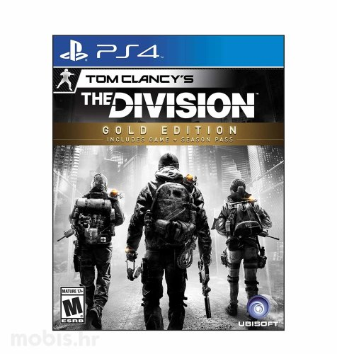 Tom Clancy's The Division Gold Edition igra PS4