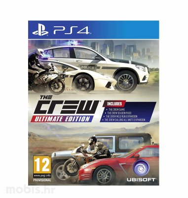 The Crew: Ultimate Edition igra za PS4