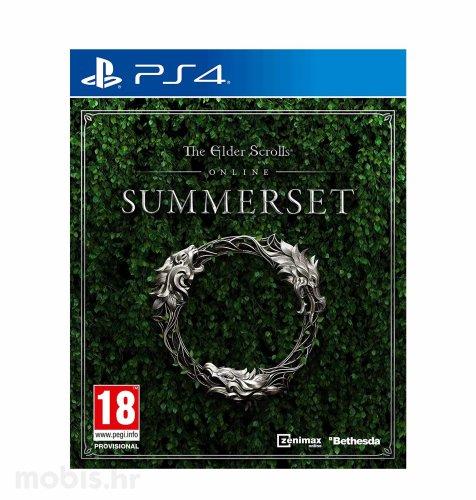 The Elder Scrolls Online Summerset igra za PS4