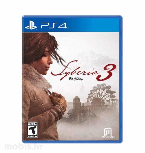 Syberia 3 igra za PS4