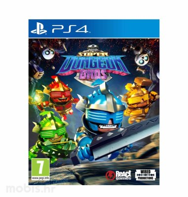 Super Dungeon Bros igra za PS4