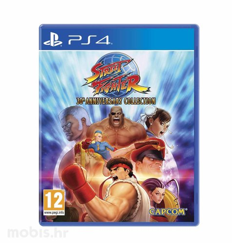 Street Fighter Anniversary Collection igra za PS4