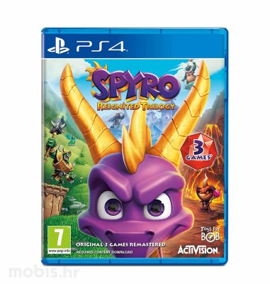 Spyro Trilogy Reignited igra za PS4