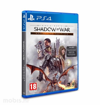 """Middle Earth """"Shadow of War Definitive Edition"""" igra za PS4"""