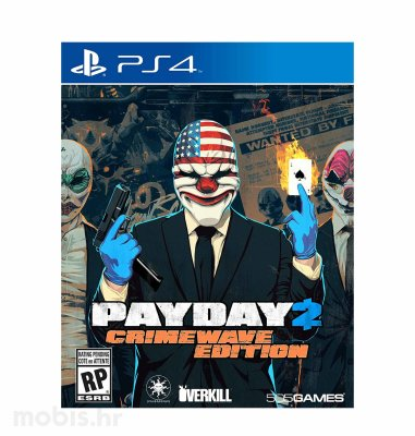 Payday 2: Crimewave Edition igra za PS4