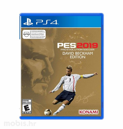 Pro Evolution Soccer 2019 David Beckham Edition igra za PS4