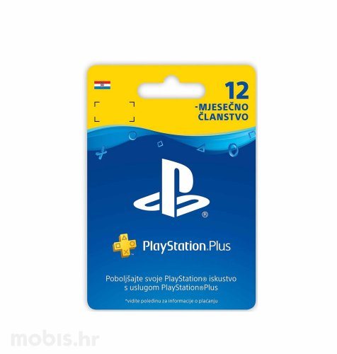 PlayStation Plus Card 365 Days Hanger bon