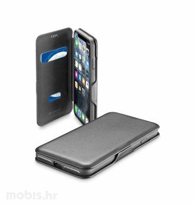 Cellular line preklopna kožna maskica za Apple iPhone 11 Pro: crna
