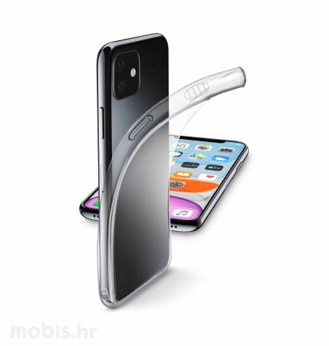 Cellular line silikonska maskica za Apple iPhone 11: prozirna