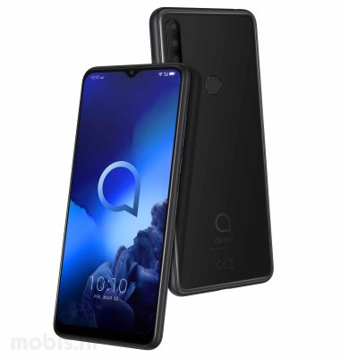 Alcatel 5048Y 3X 4GB/64GB: crni