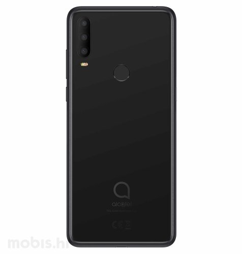Alcatel 3X 4GB/64GB (5048Y): crni