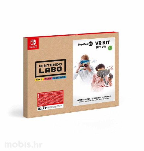 Nintendo Labo Toy-Con 04 VR Ekspanzija Set 1 (kamera + slon) Switch