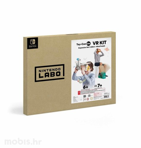 Nintendo Labo Toy-Con 04 VR Ekspanzija Set 2 (ptica + pedala) Switch