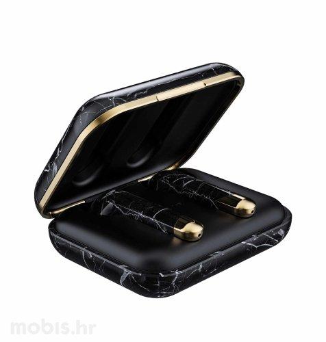 Happy Plugs Air 1 True Wireless bežične slušalice: crne mramorne