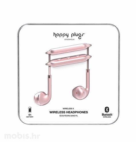 Happy Plugs wireless 2bežične slušalice: rozo zlatne